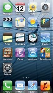 Pics For > Iphone 5s Broken Screen Wallpaper