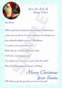 letter from santa template cyberuse With sample christmas letters from santa claus