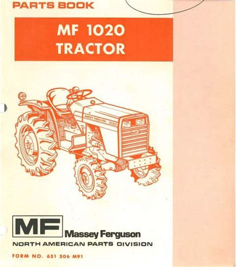 compact high massey ferguson tractor mf1020 parts manual mf 1020