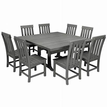 Prescott Dining Piece Polywood Furniture Costco Chairs