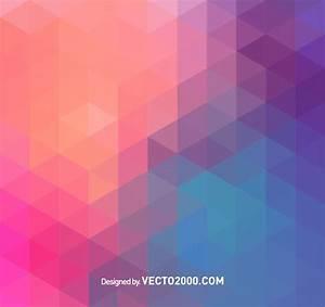 Polygon vector background vector free download