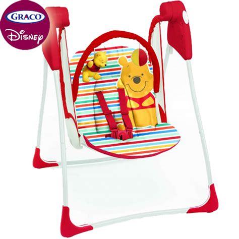 graco winnie the pooh swing graco