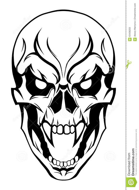 Drawings Of Skulls | Free download on ClipArtMag