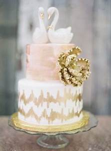 Elisa Cake Design Whimsical Blush Pink And Gold Wedding Burnett 39 S Boards