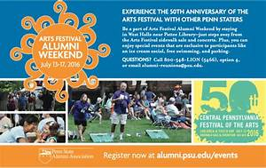Arts Festival Alumni Weekend | Penn State University