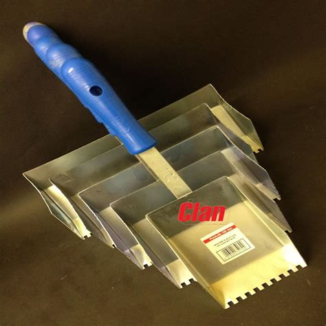 tile adhesive applicator trowel various sizes ebay