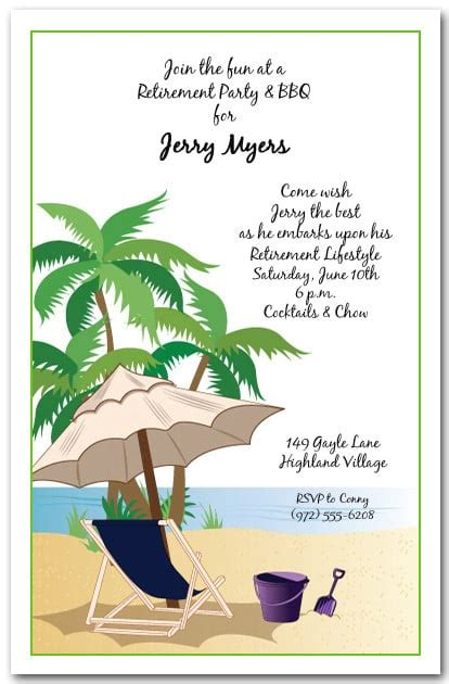 kick  beach invitation tropical party invitations