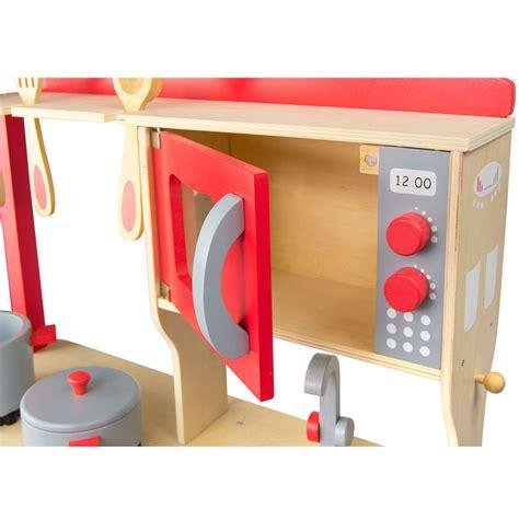 jeux enfants cuisine leomark bois cuisine enfants jeux cuisine avec accessoires jouets nouveau ebay