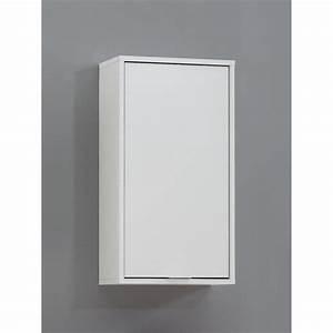 Meuble Haut De Salle De Bain : meuble de salle de bains zamora blanc achat vente ~ Louise-bijoux.com Idées de Décoration