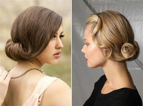 hairstyles  long hair gatsby style vintage