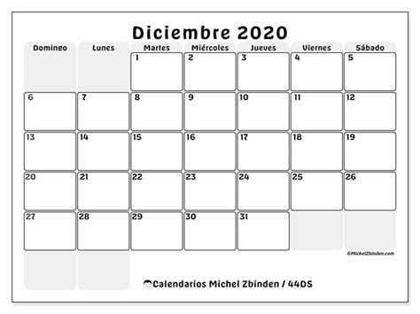 calendario diciembre ds michel zbinden es