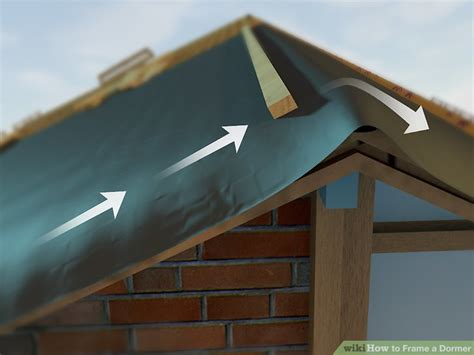 A Frame Dormer by How To Frame A Dormer With Pictures Wikihow
