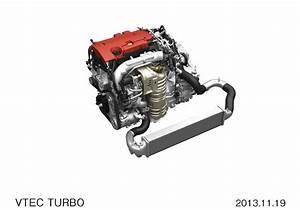 Honda Anuncia Sus Nuevos Motores Vtec Turbo