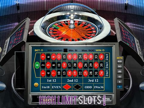 Best High Limit Roulette Games  Play High Stakes Roulette