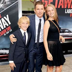 Ethan Hawke Opens Up About Parenting With Ex-Wife Uma ...