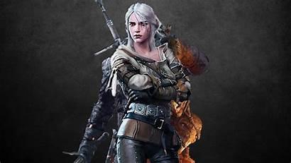 Ciri Geralt Witcher 1080p