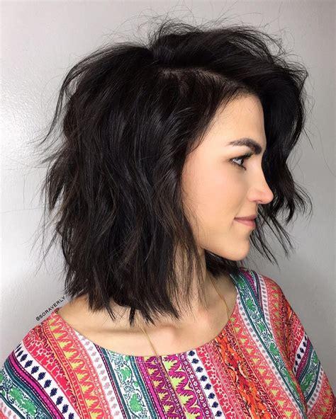 stunning medium layered haircuts updated
