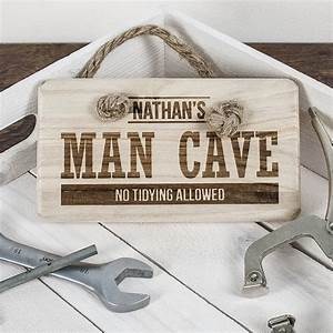 Personalised, Man, Cave, Sign, By, The, Little, Boys, Room