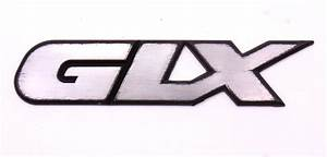 Glx Trunk Emblem Badge 95-99 Vw Jetta Vr6 Mk3 - Genuine