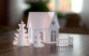 Deko Aus Papier : diy kleine winterlandschaft aus papier deko kitchen ~ Eleganceandgraceweddings.com Haus und Dekorationen