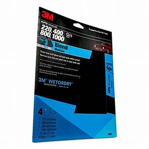 3m 03021 Wetordry 9 Quot X 11 Quot Sandpaper Sheet With Assorted