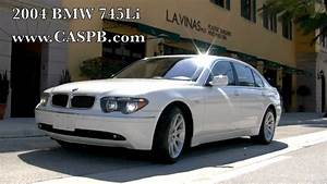 2004 Bmw 745li - Alpine White