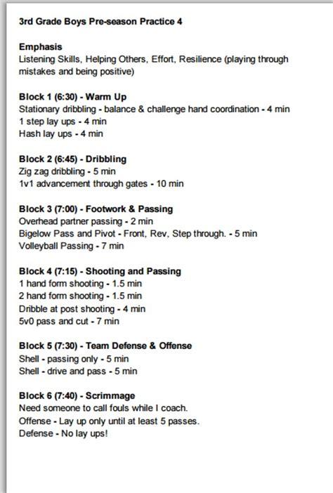 grade boys basketball practice plan