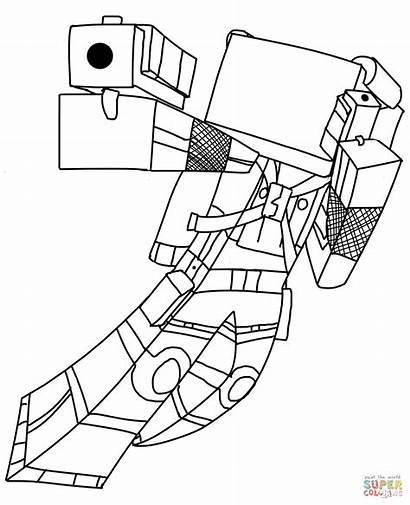 Minecraft Coloring Pages Dantdm Printable Getcolorings Colorings