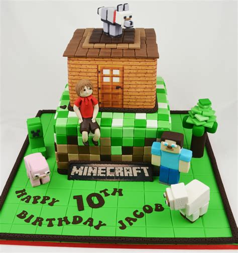 minecraft birthday cakes minecraft childrens birthday