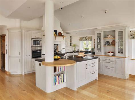 Kitchen Breakfast Bar Storage by Breakfast Bar Designs Kitchen Storage Solution