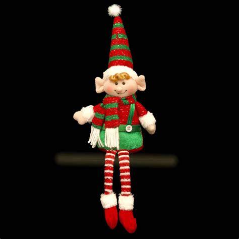 elf shelf sitter christmas decoration gift cm