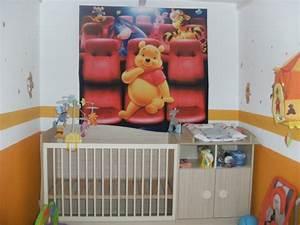 Chambre Bébé Ourson : chambre b b winnie l 39 ourson 8 photos virginie29 ~ Teatrodelosmanantiales.com Idées de Décoration