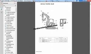 Yanmar Construction Equipment Parts Manual 2018