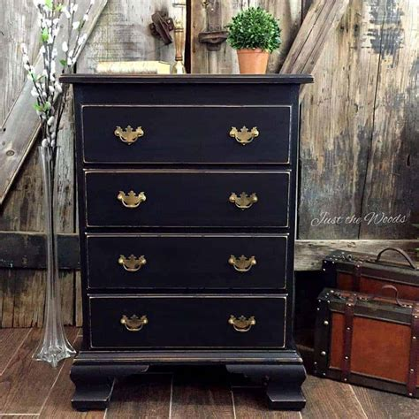 black leather dresser yes you can paint leather furniture vintage drop side tables