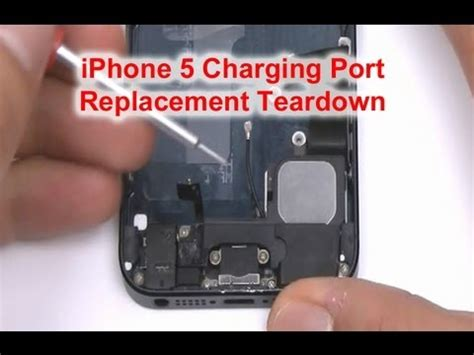 iphone 5 charger port repair how to fix iphone 5 charger port
