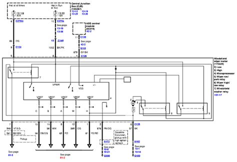 1999 Tauru Wiper Wiring Diagram by My Washer And Wiper Stopped Working On My 04 F350 Today