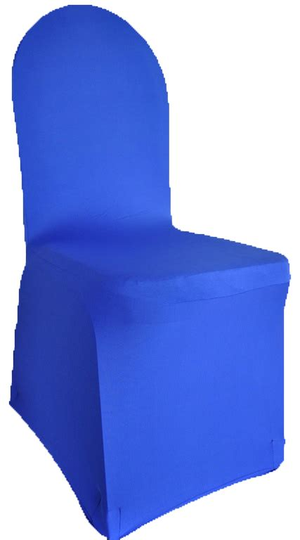 royal blue spandex stretch banquet chair covers sale