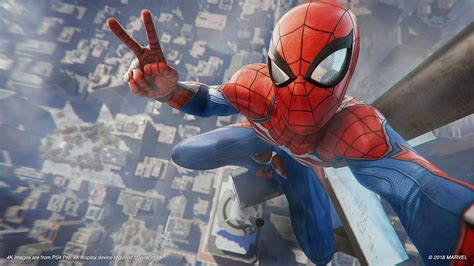 Spiderman Ps4 Info Blowout On Traversal, Costumes, Powers