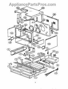 Parts For Thermador Prse366s  Frame Parts