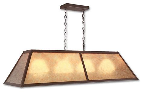 rustic rocky mtn billiard light large eclectic pool