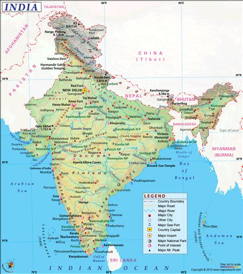 india map map  india