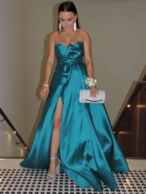 Teal Formal Dress Size 6 | The Volte