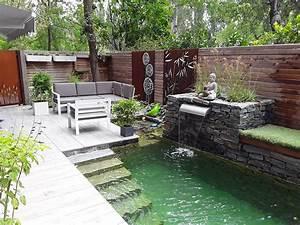 Steinmauer Mit Wasserfall : steinmauer mit wasserfall schne garten steinmauer garten sichtschutz selber bauen beste von ~ Sanjose-hotels-ca.com Haus und Dekorationen