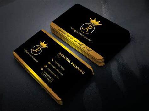 design  premium business card   hamzasial fivesquid