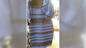 des scientifiques percent enfin le mystere de la couleur With robe bleu et noir illusion
