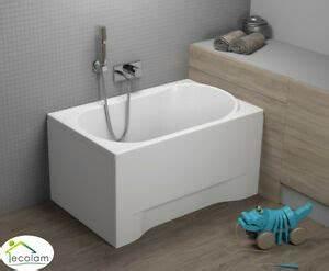 Mini Badewannen Kleine Bäder : badewanne kleine wanne rechteck 100x65 110x70 mit ohne sch rze ablauf acryl ebay ~ Frokenaadalensverden.com Haus und Dekorationen
