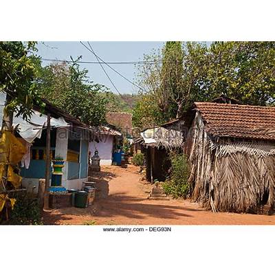 Goa Village Stock Photos & Images - Alamy