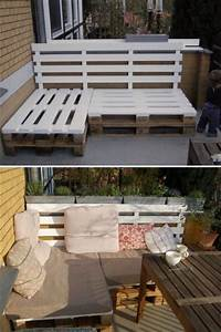 Balkon Couch : m bel paletten terrasse and balkon on pinterest ~ Pilothousefishingboats.com Haus und Dekorationen