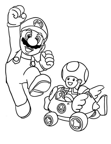 Mario Kart 8 Kleurplaat by Bovenste Deel Kleurplaat Mario Kart 8 Krijg Duizenden
