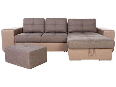 canapé 4 places conforama canapé d 39 angle convertible et réversible 4 places en tissu
